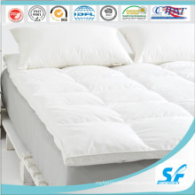 White Down and Feather Hotel Protector Mattress/Mattress Protector/Mattress
